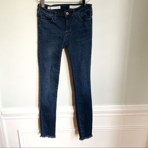 Anthro Pilcro and The Letterpress Jeans Sz 24